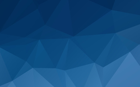 Ilustración de Deep blue abstract triangular vector abstract wallpaper background - Imagen libre de derechos