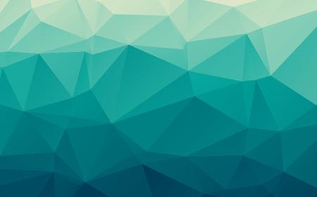Photo pour Stylish sea blue vector polygonal abstract background - image libre de droit