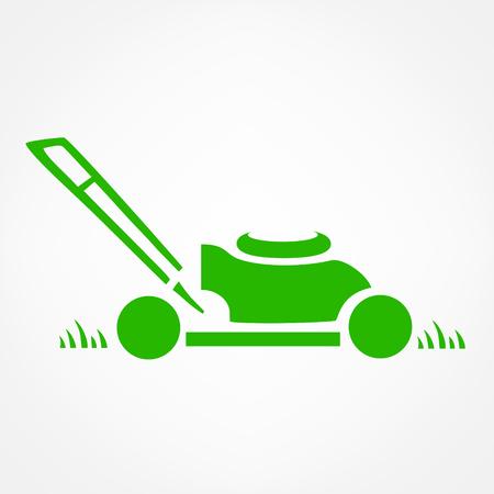 Illustration pour lawn mower logo vector - image libre de droit