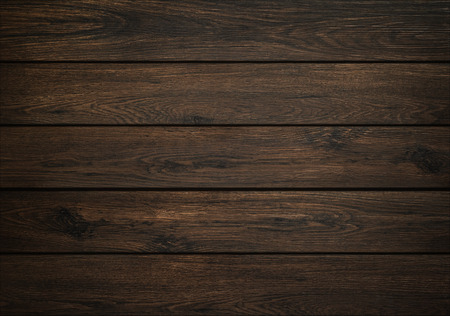 Foto de Dark wood background. Wooden board texture. Structure of natural plank. - Imagen libre de derechos