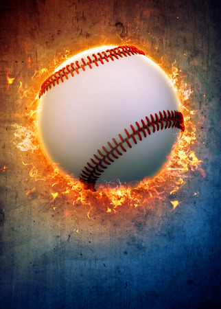 Photo pour Abstract baseball sport invitation poster or flyer background with empty space - image libre de droit
