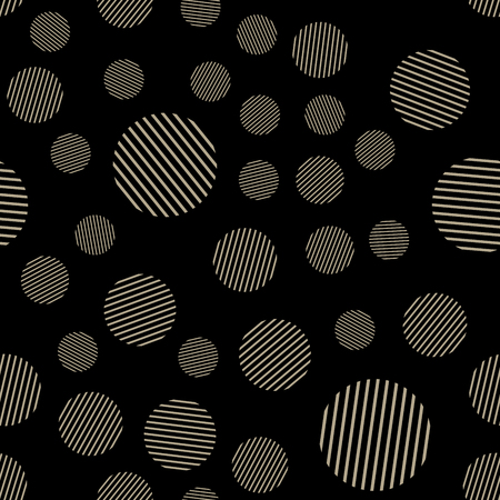Ilustración de Dots pattern on textile, abstract geometric background. Creative and luxury style illustration - Imagen libre de derechos
