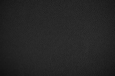 Black leather texture as background
