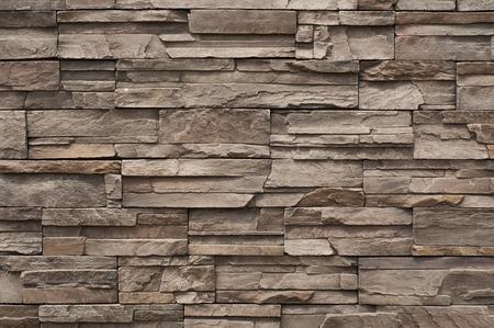 Photo pour Modern brick wall  - image libre de droit