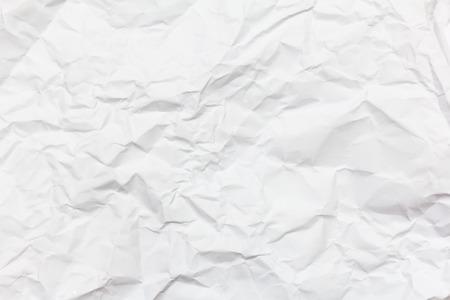 Foto de white crumpled paper background texture - Imagen libre de derechos