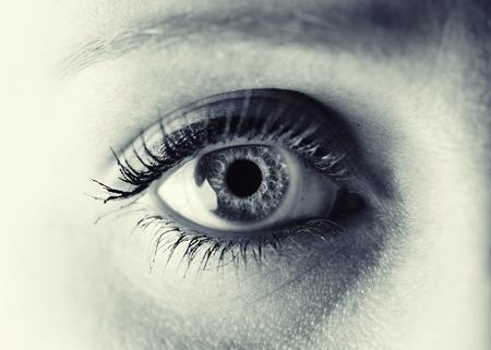 Foto de Women eye. Monochrome. - Imagen libre de derechos