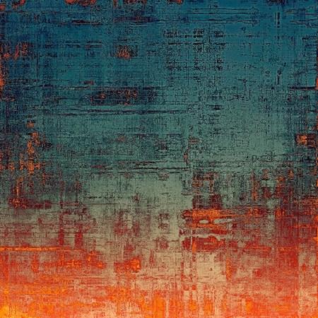 Foto de Vintage texture for background. With different color patterns: yellow (beige); blue; gray; red (orange) - Imagen libre de derechos