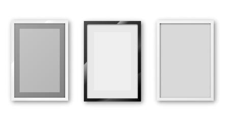 Ilustración de a4 frame - Imagen libre de derechos