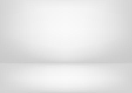 Illustration pour Clear studio light vector white background for product presentation - image libre de droit