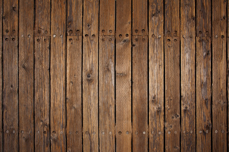 Photo for Old wood flooring on a pier - Royalty Free Image