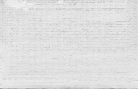 Foto de Background. Brick wall painted with white paint. - Imagen libre de derechos