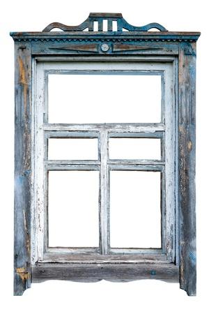 Photo pour Old window frame - image libre de droit