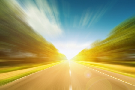 Photo for Road motion - Royalty Free Image