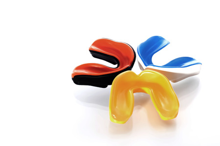 Photo pour Mouthguard - image libre de droit