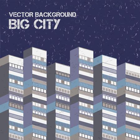 Ilustración de Architectural Vector Background - Imagen libre de derechos