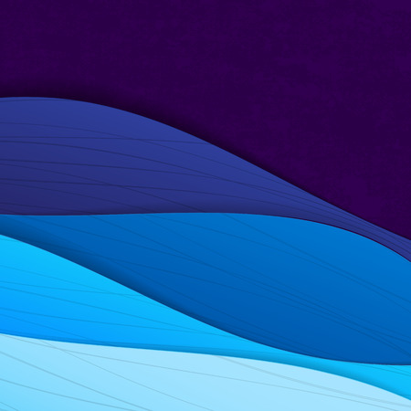 Illustrazione per Colorful illustrated abstraction. - Immagini Royalty Free