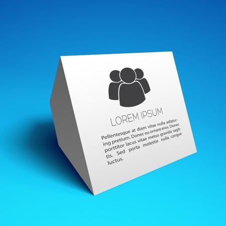 Ilustración de Business Card Design - Imagen libre de derechos