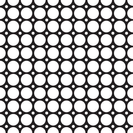Illustration pour Abstract Grid Seamless Pattern - image libre de droit
