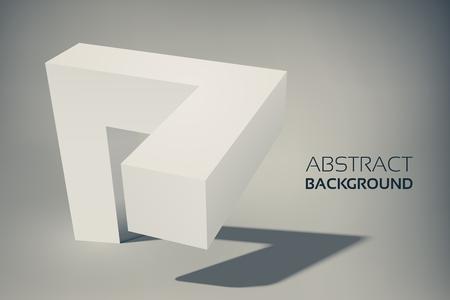 Photo pour Abstract Geometric Template - image libre de droit