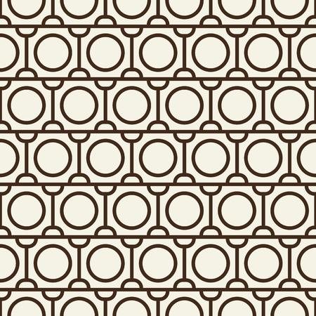 Ilustración de Modern Blackwhite Abstract Seamless Repetition Pattern - Imagen libre de derechos