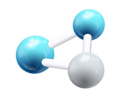 Illustration pour Structural Chemical Formula Object - image libre de droit