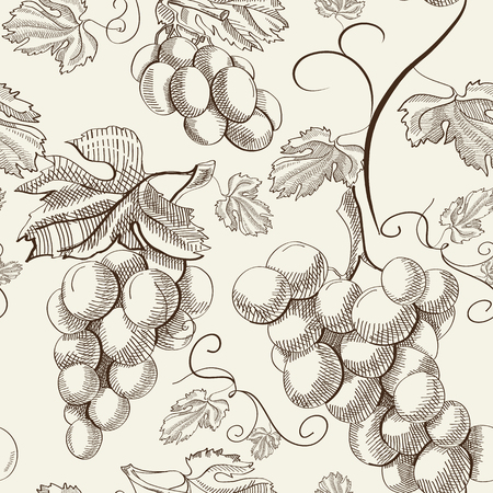 Illustration for Abstract Berry Seamless Pattern - Royalty Free Image