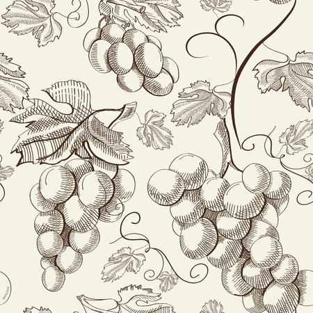 Ilustración de Abstract Berry Seamless Pattern - Imagen libre de derechos
