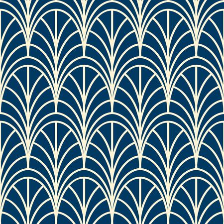 Illustration pour Geometrical seamless pattern similar to decorative trellis - image libre de droit