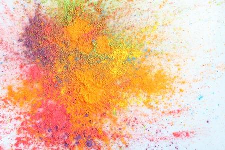 Photo pour Celebrate festival Holi. Indian Holi festival of colours - image libre de droit