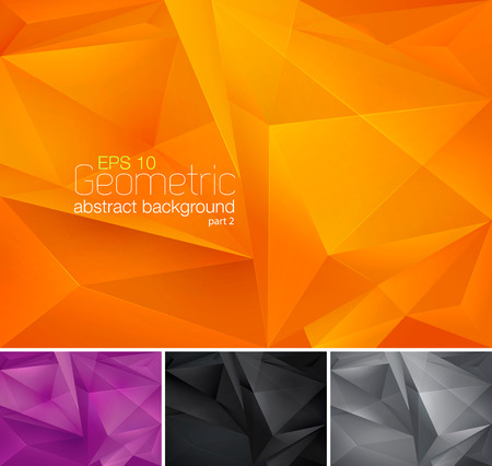 Illustration pour Geometric abstract background - image libre de droit