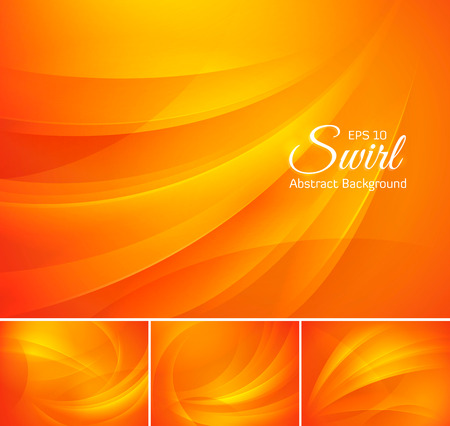 Illustration pour Swirl abstract background - image libre de droit