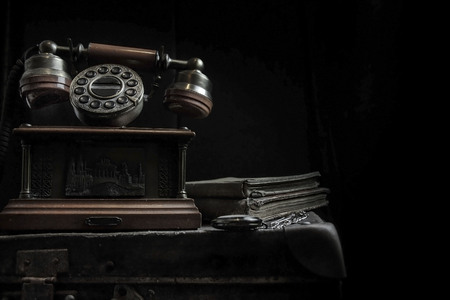 Photo for Old telephone - Royalty Free Image