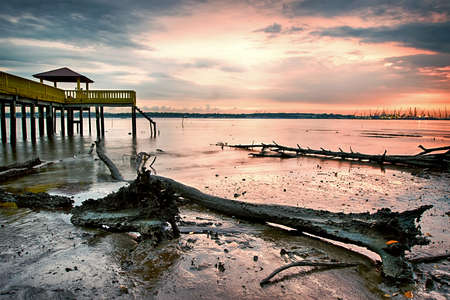 Kuala Masai at Sunset with Lee GND and Bigstopper Filter