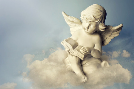 Photo for Angel on the cloud - Royalty Free Image