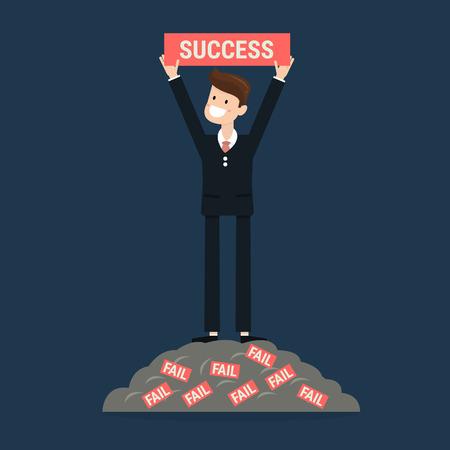 Ilustración de Successful businessman. - Imagen libre de derechos
