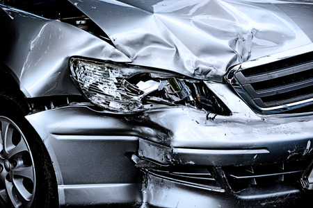 Photo pour Car crash - image libre de droit