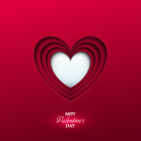 Illustration pour Bright Valentine`s day background - image libre de droit
