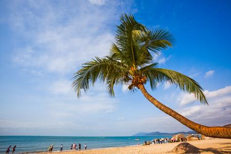 Foto de Sanya beach scenery - Imagen libre de derechos