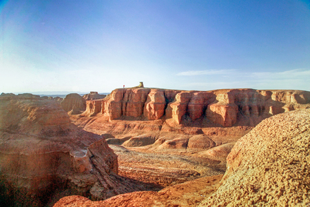 Photo for Xinjiang Karamay Urho Devil City in China - Royalty Free Image