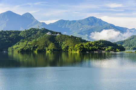 Photo for Scenery of Sun Moon Lake in Taiwan, Asia. - Royalty Free Image