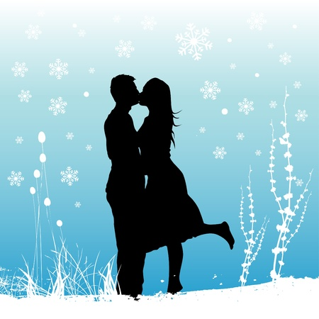 Photo for winter love  - Royalty Free Image