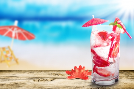 Photo pour Summer drink - image libre de droit