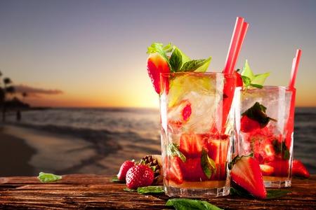 Foto de Cocktail drinks - Imagen libre de derechos