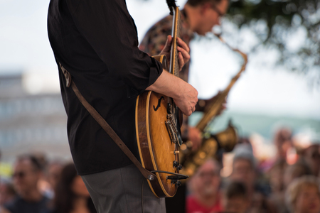 Photo for outdoor concert - Royalty Free Image