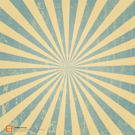 Photo for New vector Vintage blue rising sun or sun ray,sun burst retro background design - Royalty Free Image