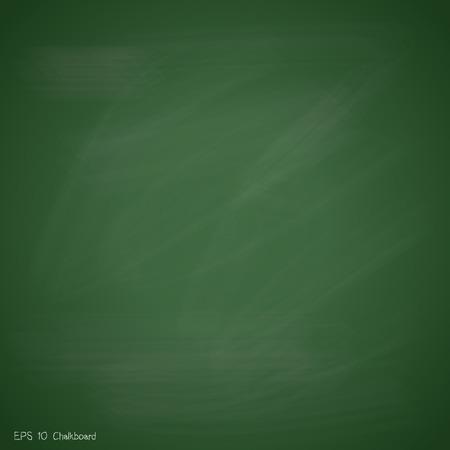 Illustration pour New green chalkboard background vector design - image libre de droit