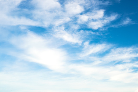 Photo pour Blue sky with clouds - image libre de droit