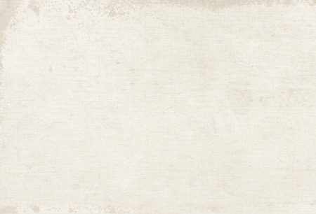 Foto de Vintage white canvas texture, book cover background - Imagen libre de derechos