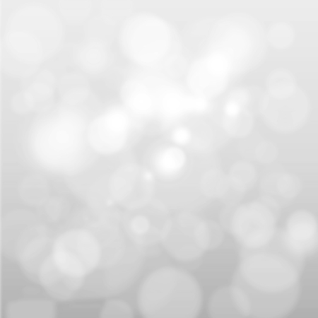 Foto de Artistic style - Defocused abstract white and gray bokeh lights background with blurring lights for your design - Imagen libre de derechos