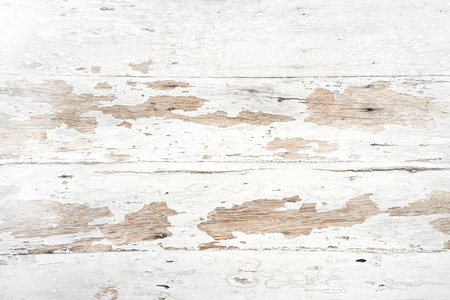 Photo for Old and grunge white wood texture - vintage background - Royalty Free Image